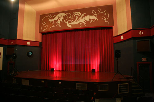 Inside the Hardacre Theater