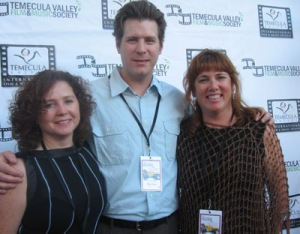 Caroline Manard, Don Casper, Anne Mills at the TVIFF Opening Night Party